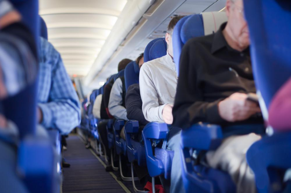 Most airlines equip their seats with disposable antimacassars.