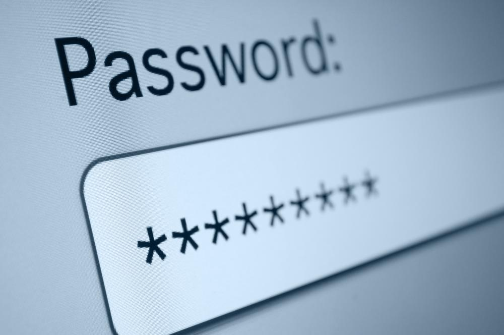 Strong authentication requires entering a password plus at least one other form of identity verifying information.