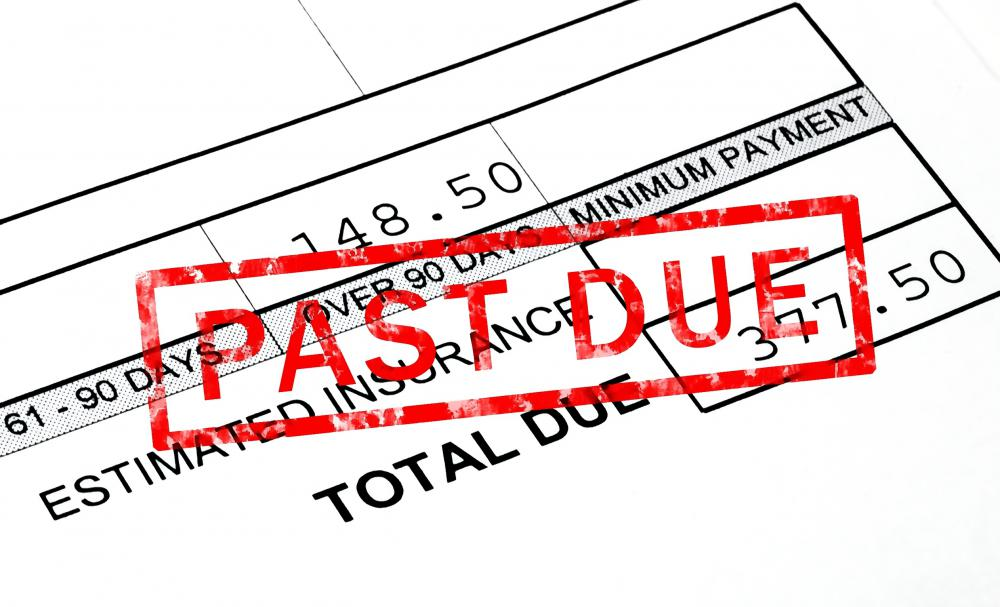Catching up on past due bills may improve your credit rating.