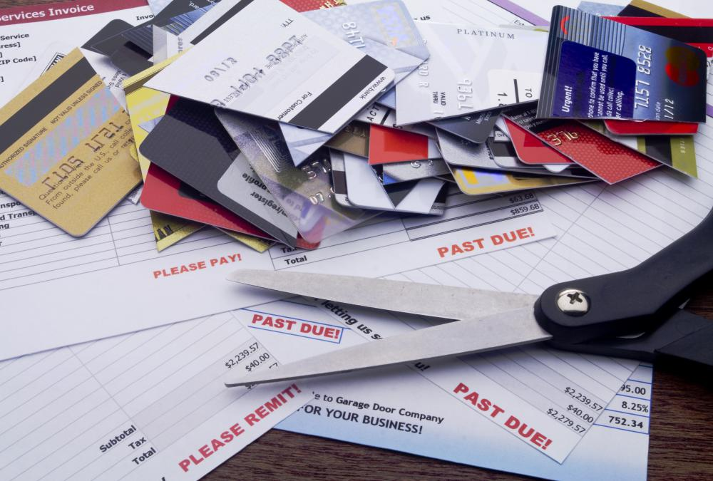 High credit card debt is one of the leading causes of consumer bankruptcy.
