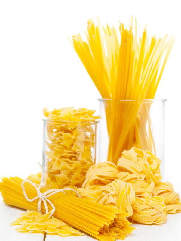 Pasta can be eaten in the second phase of the South Beach Diet.