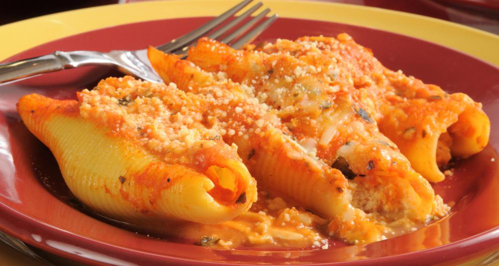 What is conchiglie pasta with pictures - Different types of entrees ...