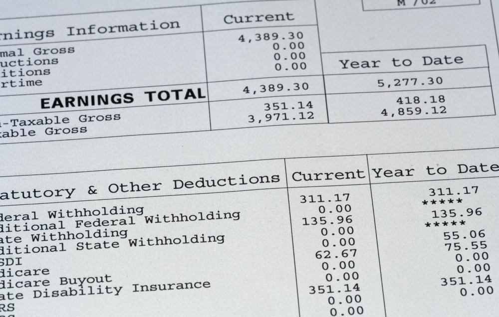 In tenant screening, a current pay stub is something that a landlord would want to obtain.