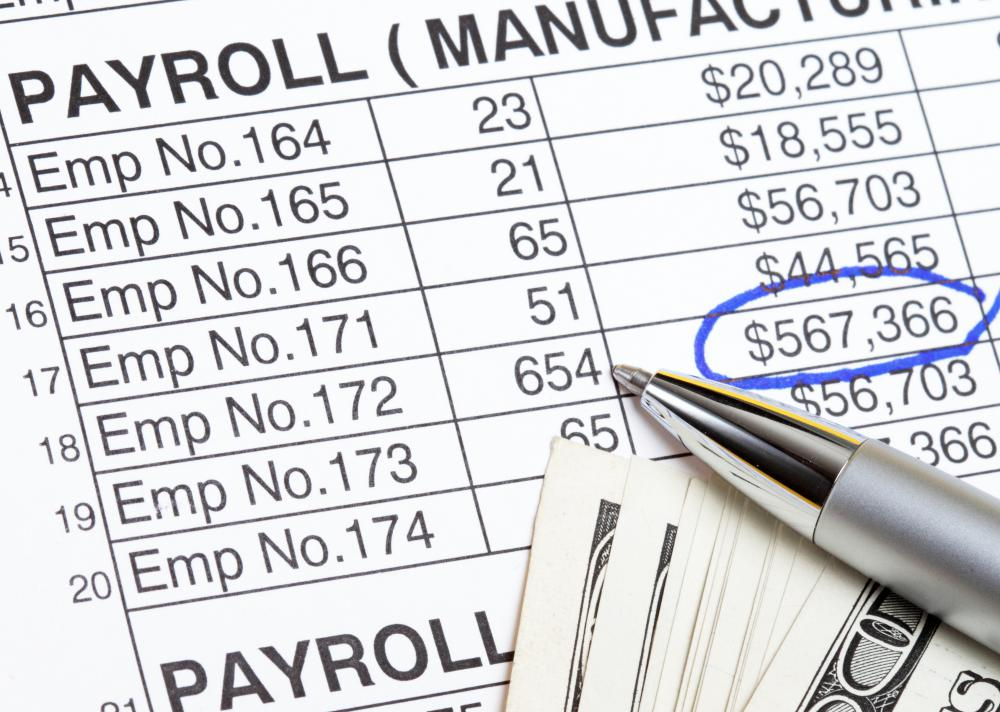 Direct labor costs is payroll that goes toward employees who are directly involved with providing a good or service.
