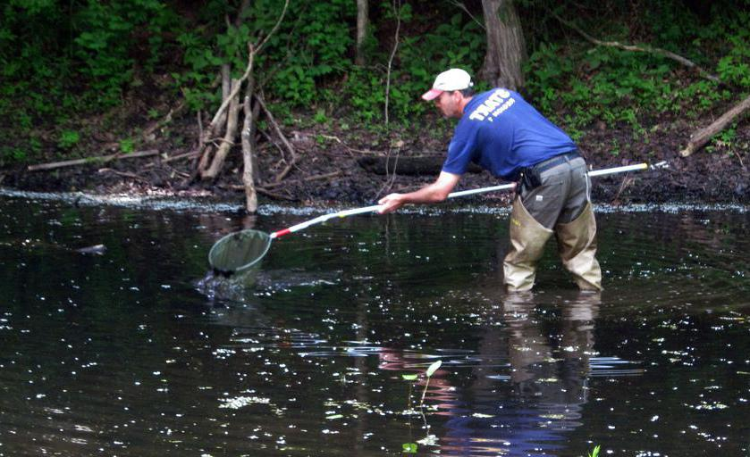 Chemicals can easily contaminate waterways.