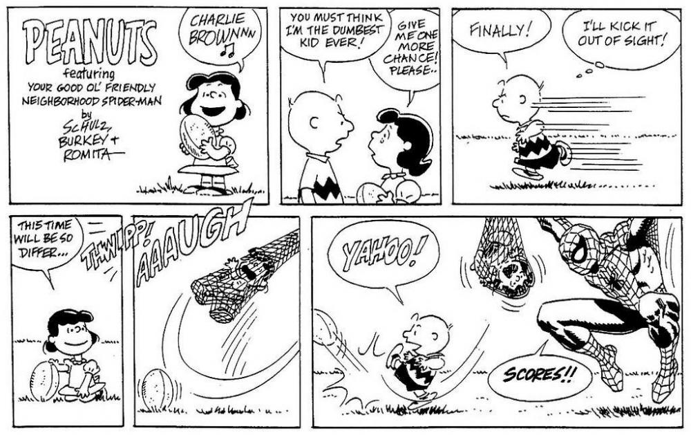 The Peanuts comic strip ran from 1950 until 2000.