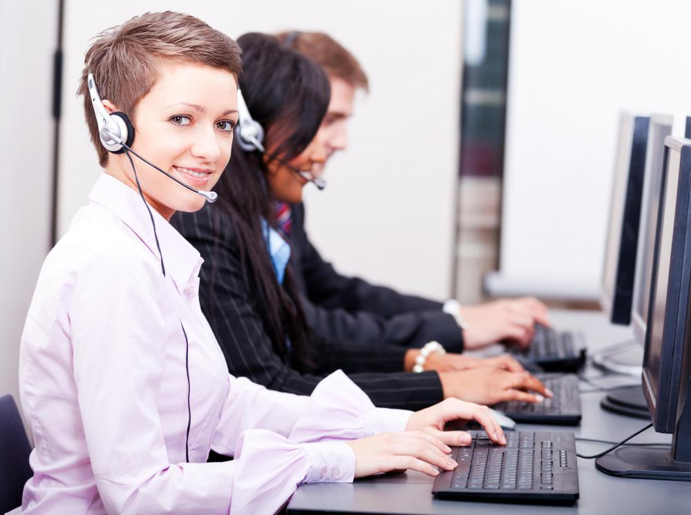Predictive dialing is often used in call centers.