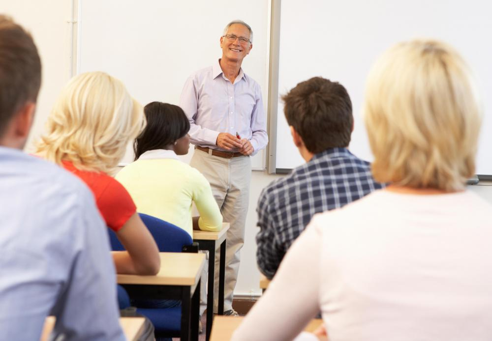 Doctors and other healthcare workers are typically required to attend continuing education classes regularly in order to maintain their license.