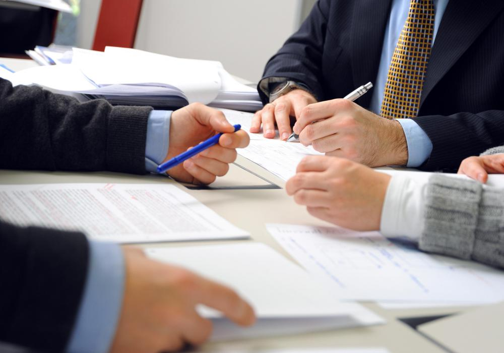 A contract coordinator helps to find the right company to provide a product or service.