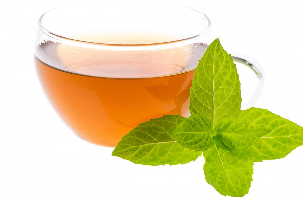Peppermint and chamomile teas can sooth upset stomachs.