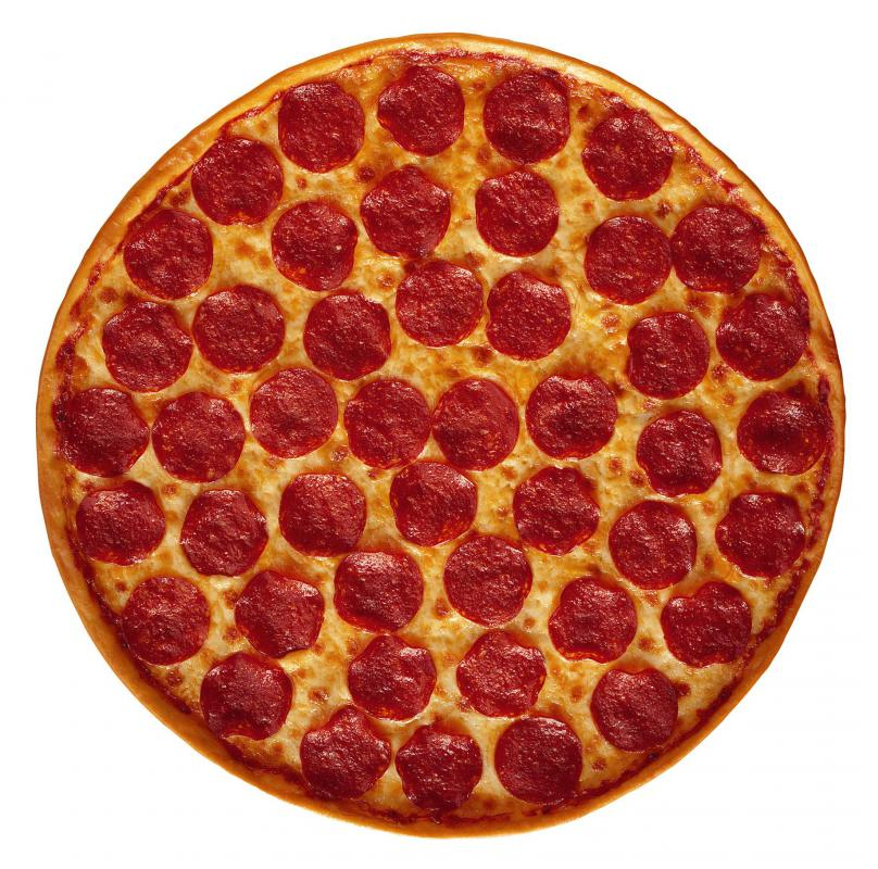 Pepperoni is a popular pizza topping in the US.