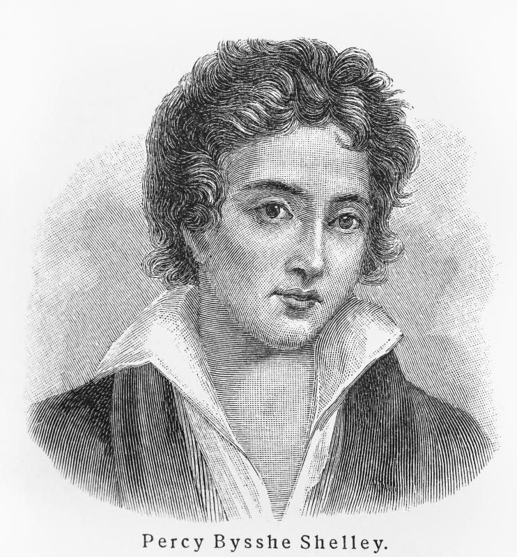 British poet Percy Bysshe Shelley used internal ryhme in his poem The Cloud.