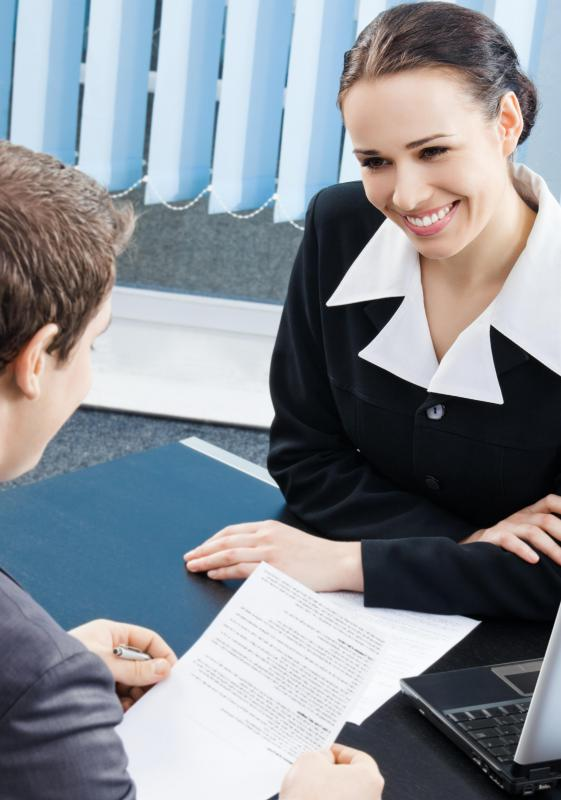 Initial interviews are typically conducted on a one-on-one basis.