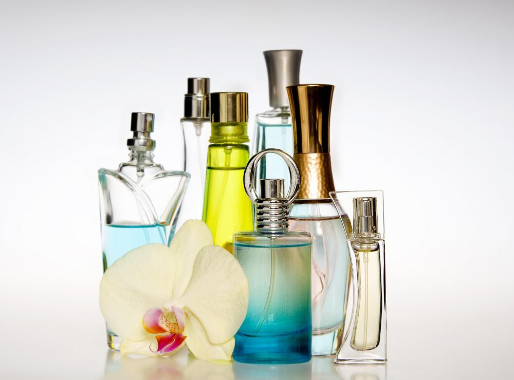 Perfumes usually come in attractive packaging.