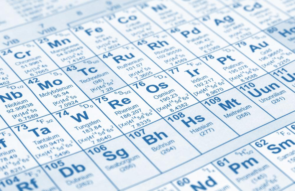 Zinc has an atomic number of 30 and symbol of Zn on the periodic table.