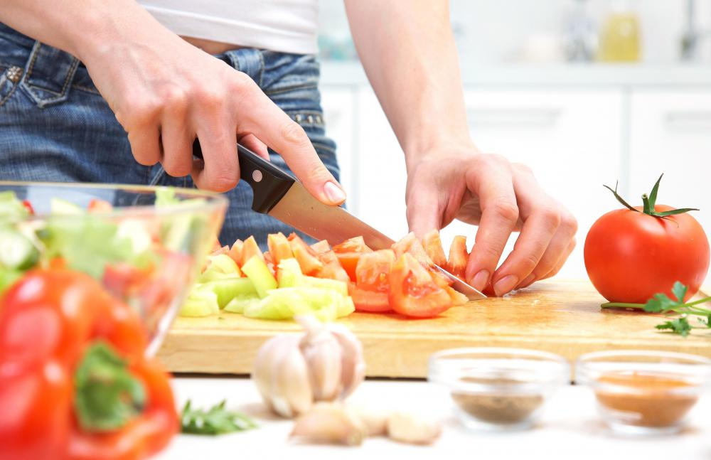 A chef's video blog features demonstrations on how to prepare various meals.