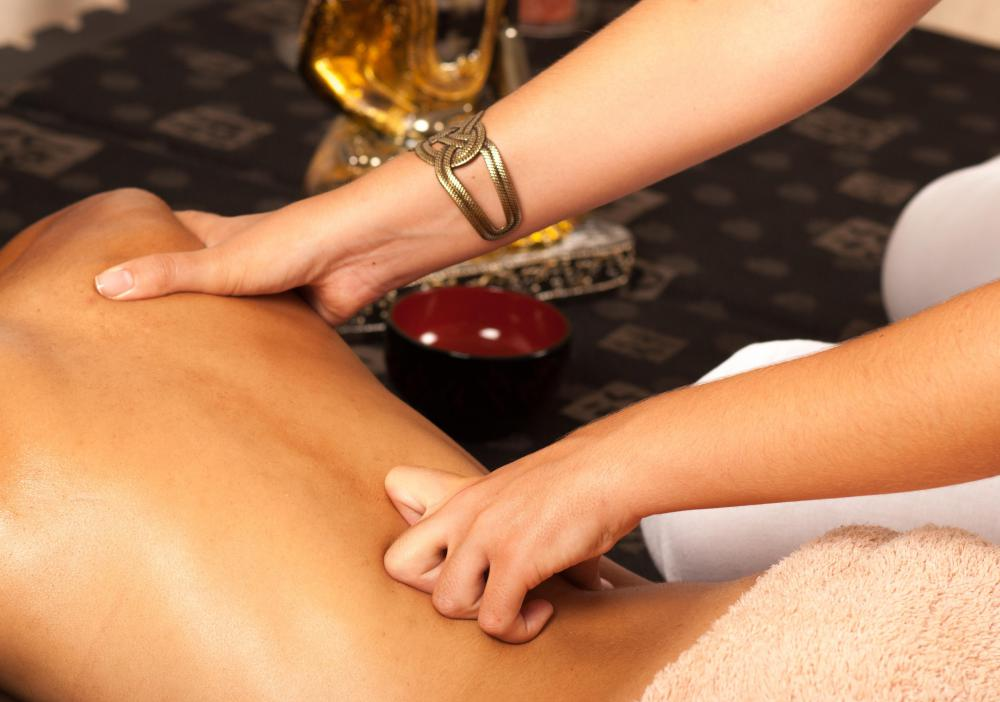 Some estheticians focus on massage as a career.