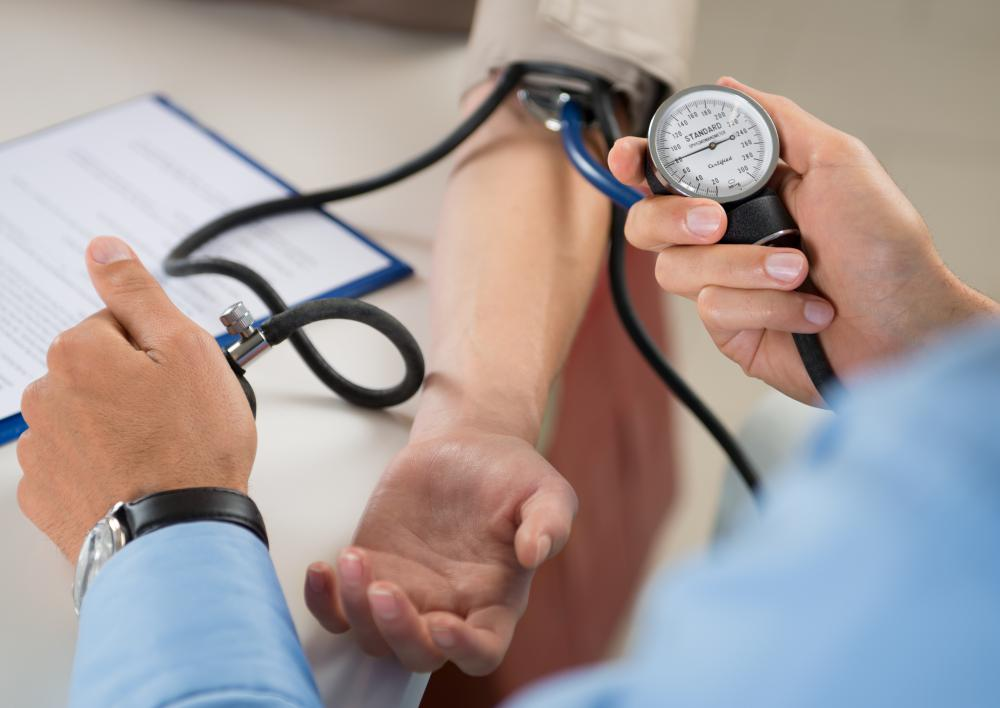 Side effects of oral steroids may include high blood pressure.