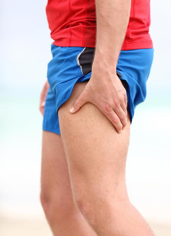 Overuse of leg muscles can be the cause of burning leg pain.