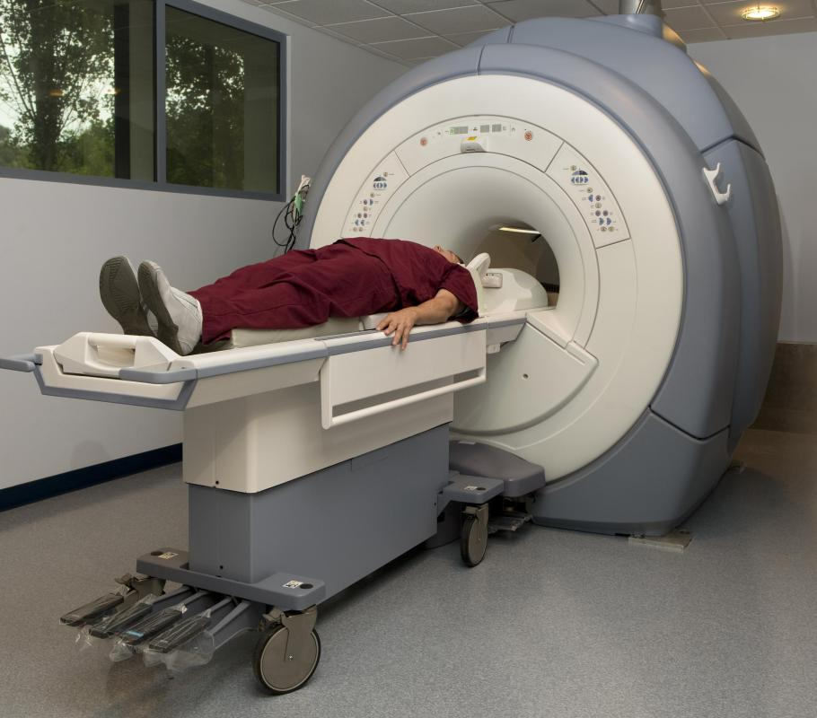 Ejection fraction may be measured via MRI procedures.