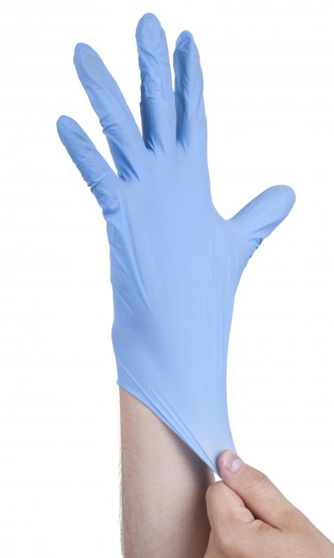 Most lubricant jellies can be used with latex gloves.