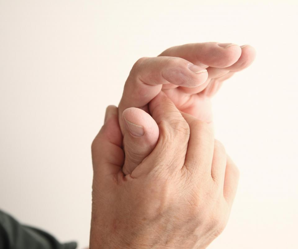 People suffering from trigger finger will typically experience pain.