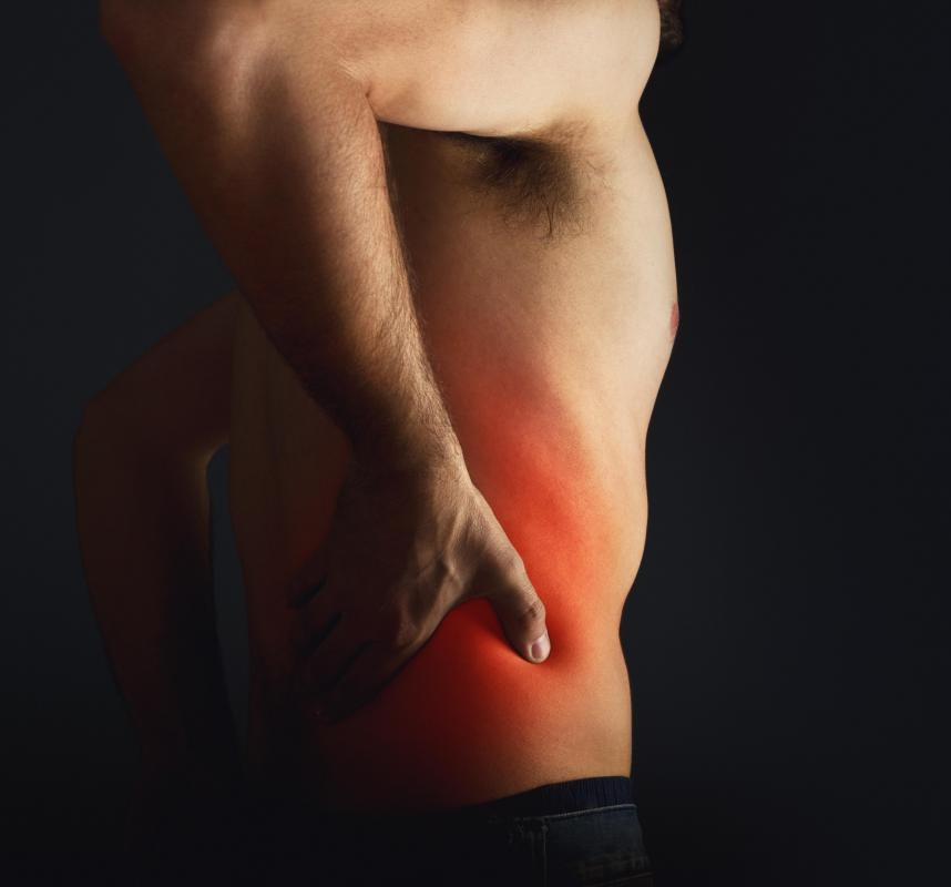 Sciatica may cause leg and buttocks pain.