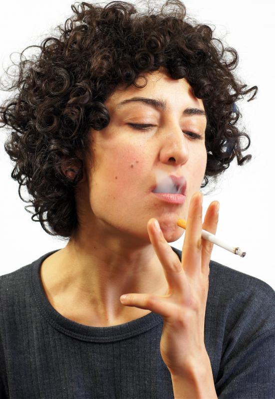 Smokers may be susceptible to experiencing stomach gas as a result of swallowing air.