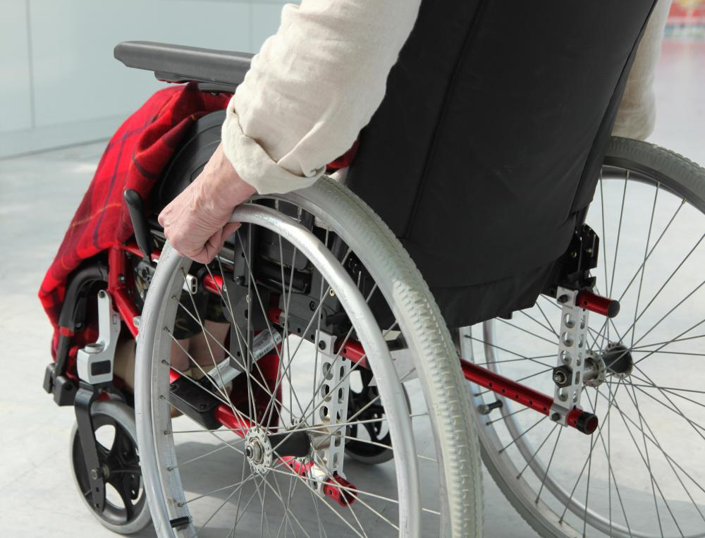 A person recovering from an open reduction internal fixation may use a wheelchair for the first several weeks.