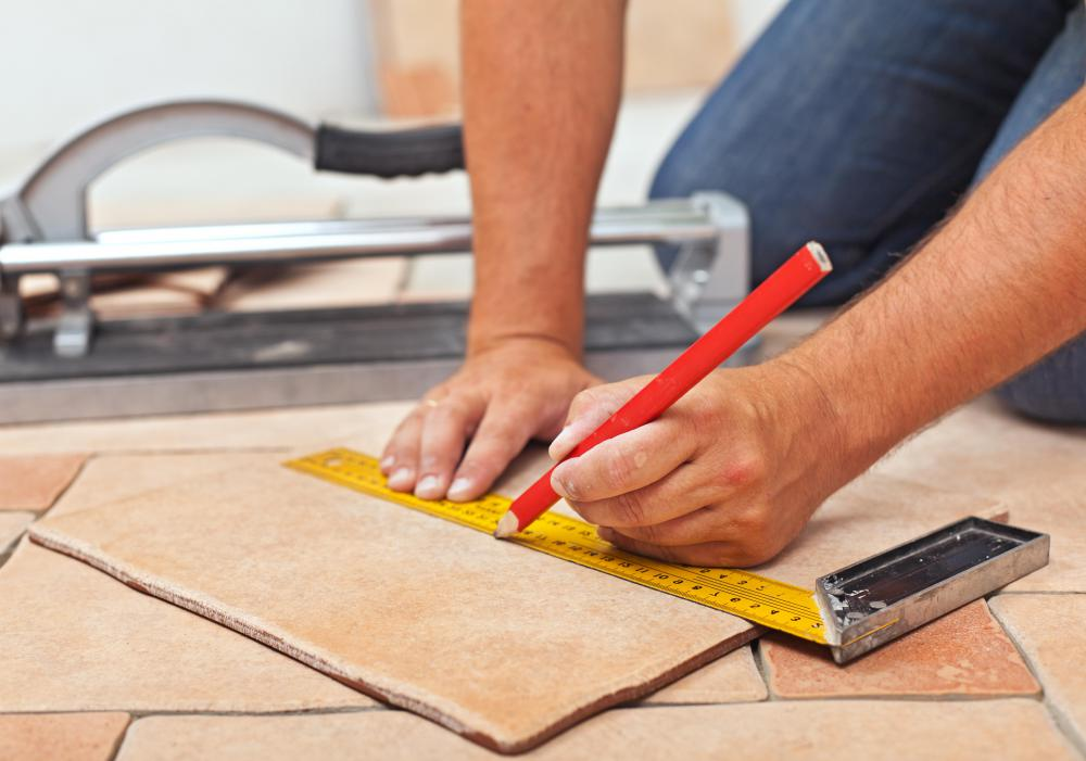 Ceramic tile is one of the easiest types of tile to install.