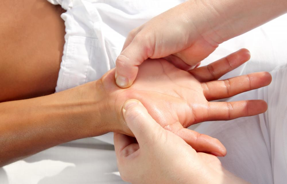 A massage may be beneficial for people suffering with trigger finger.