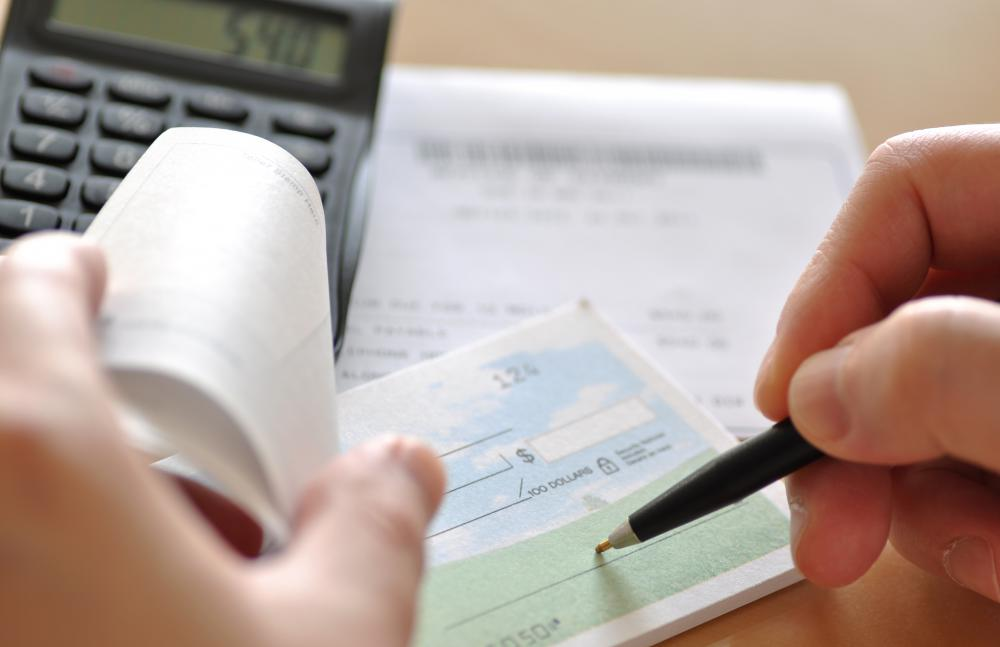 Checkbooks have fallen out of favor due to debit cards, but many people still prefer to pay bills using checks.