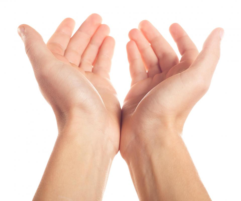 The thenar eminence refers to a muscle group in the thumb as well as the palm.