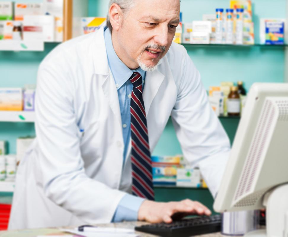 Pharmacists can review a patient's medication history to determine if potential drug interactions should be addressed.