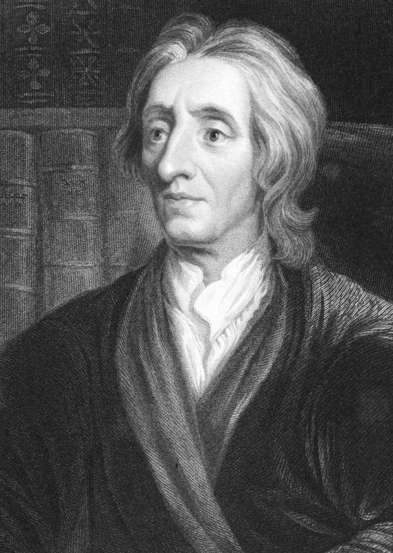 English philosopher John Locke based his work on natural law theory on earlier works by Greek philosophers.