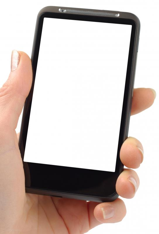 Cell phones can be used to read eBooks.