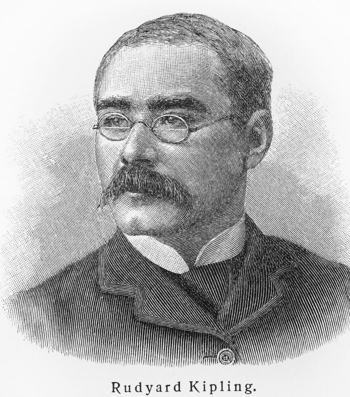 Author Rudyard Kipling was declared dead before he actually died.
