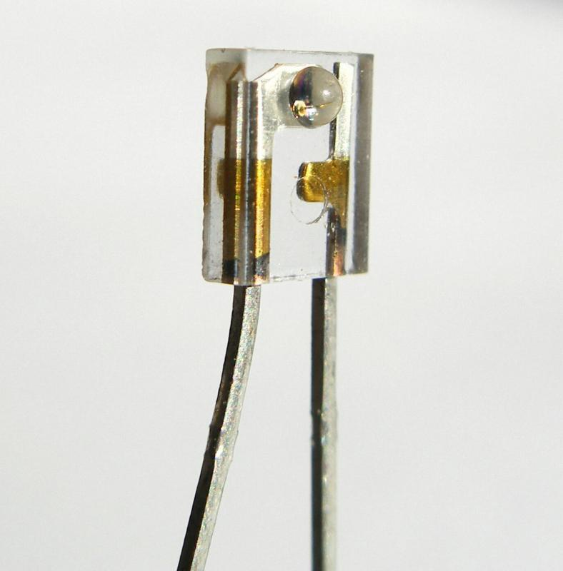The main component of a receiver unit is usually a photodiode.