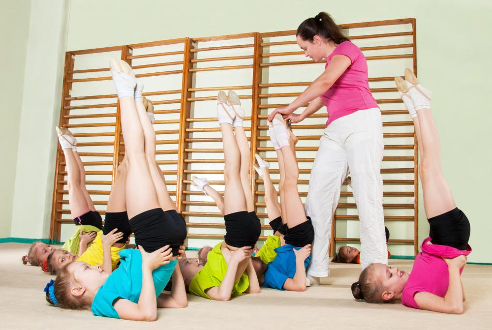 Physical education instructors will often have a degree in kinesiology to better help their students.