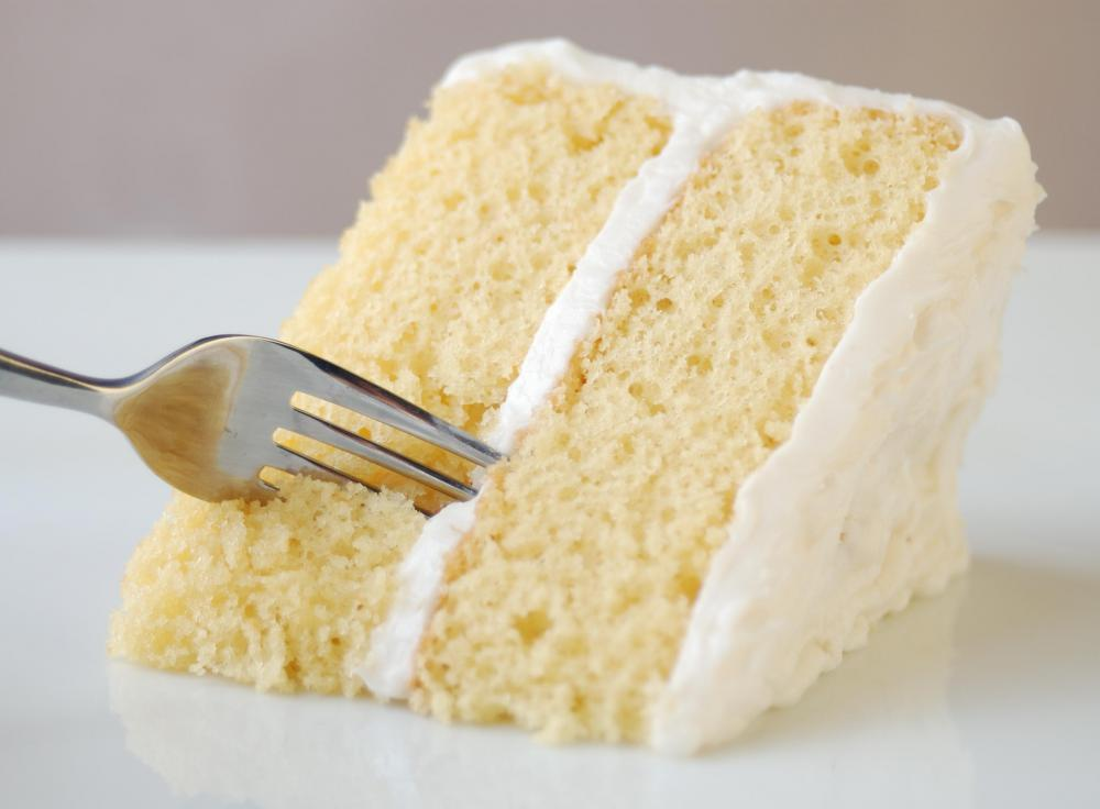 Lemon White Chocolate Birthday Cake