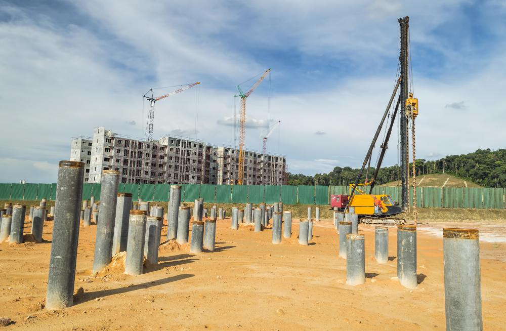 pile foundations Piles are structural members that are made of steel, concrete, or timber they are used to build pile foundations, which are deep and which cost more than shallow foundations.