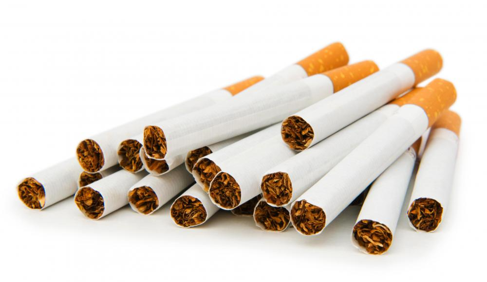 Smoking can increase a person's chances of having a heart attack.