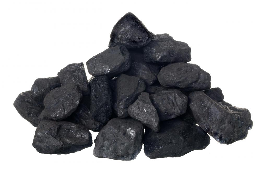 When coal is burned, byproducts of combustion like bottom ash are produced.