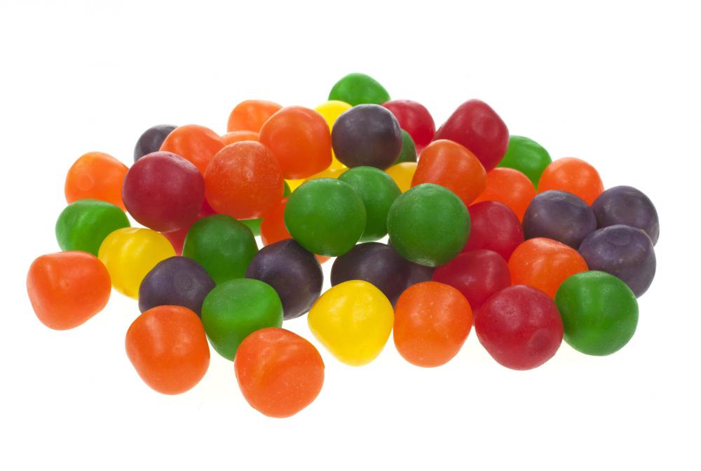 Tartaric acid is commonly used as a food additive, especially in candy.