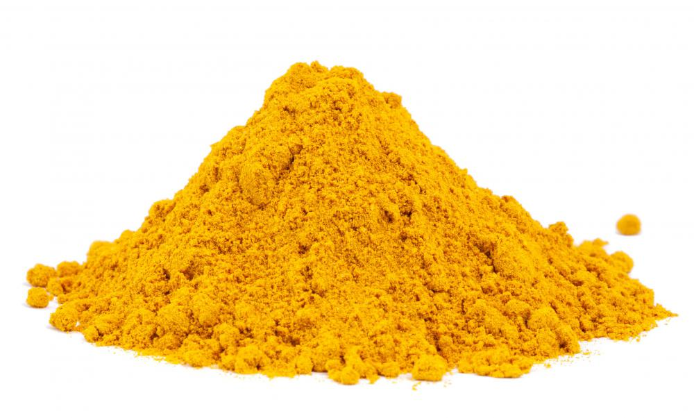 Tumeric is often used for canning cucumbers.