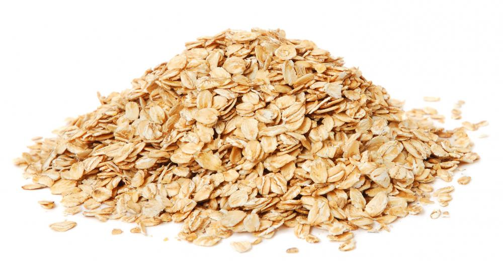 Oats, which are often included in granola bars.