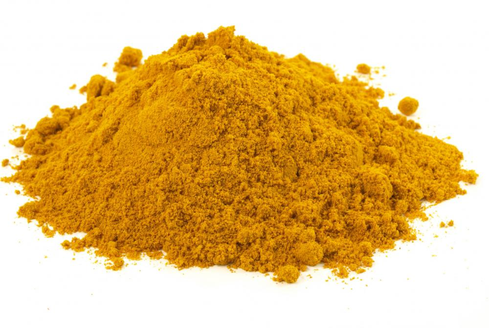 In Pakistan, turmeric is frequently used to season ginger chicken.