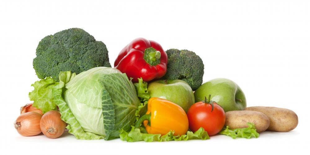 Vegetables are typically gluten-free.