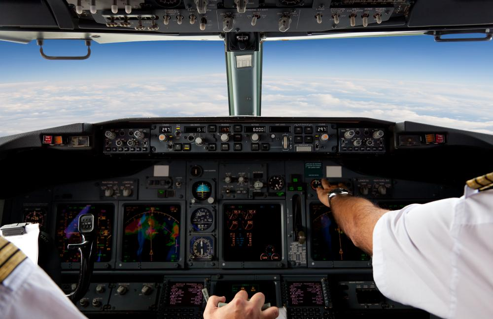 An airline pilot must have excellent visual acuity.