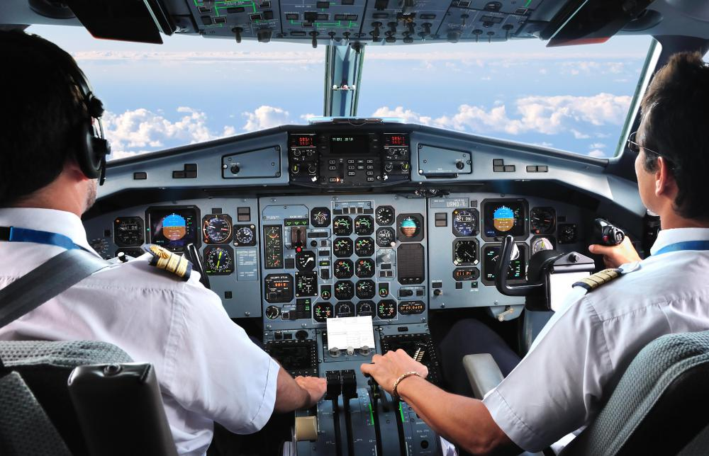 Airline pilots receive higher doses of cosmic rays during the span of their lives than most other people.